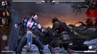 Mortal Kombat X IOS gameplay: Faction War