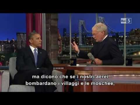 Obama Lying on Letterman Show