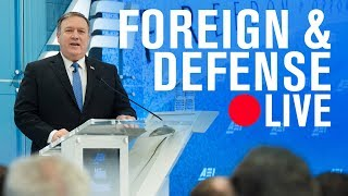 CIA Director Mike Pompeo: Intelligence beyond 2018 | LIVE STREAM