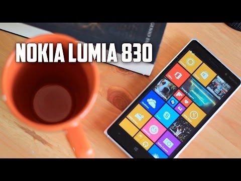 Nokia Lumia 830, Review En Español