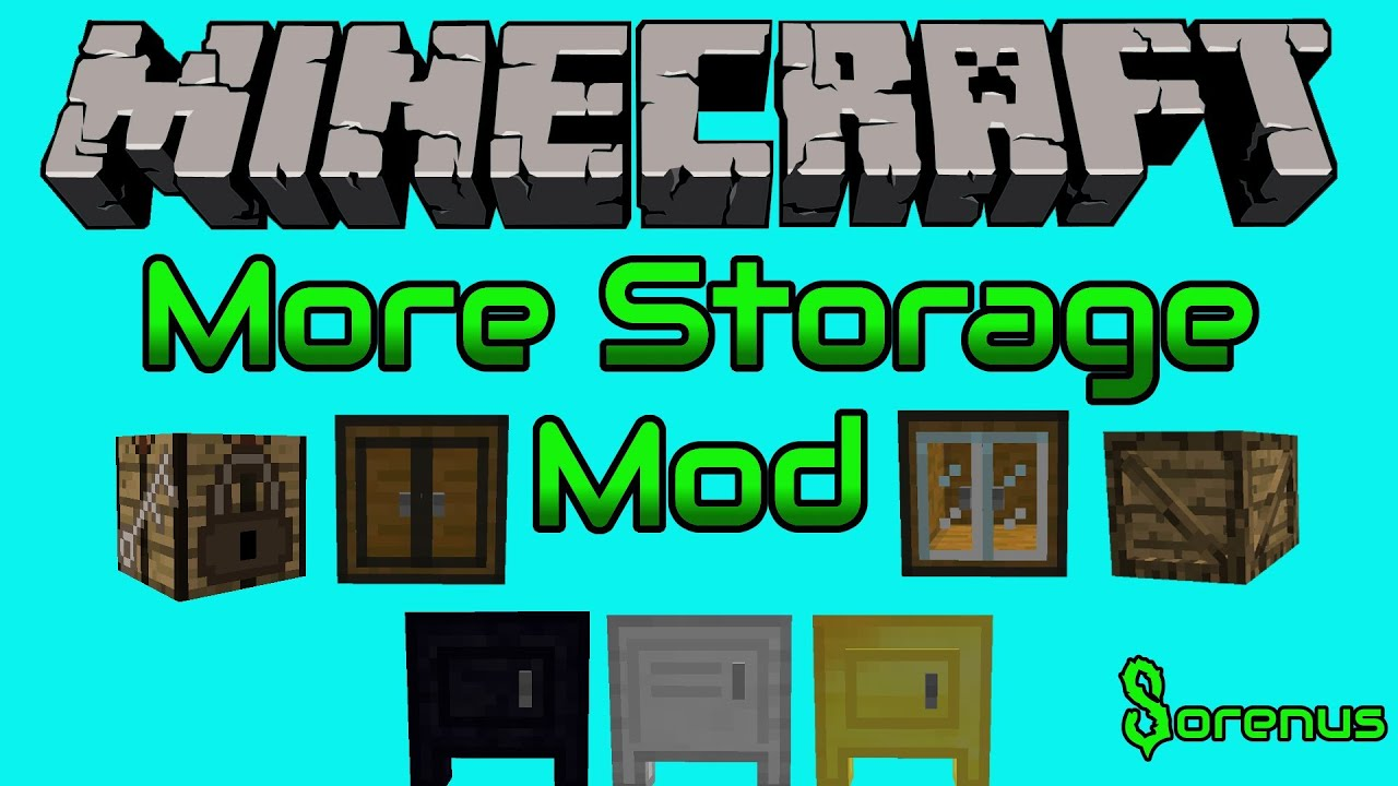More Storage   Mod For