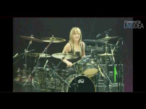 drummer for skillet. Skillet Drum Solo - Jen Ledger