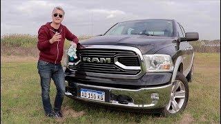 RAM 1500 Laramie - Test - Matías Antico - TN Autos