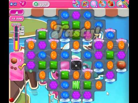 Candy Crush Saga Level 136 | How To Make & Do Everything!