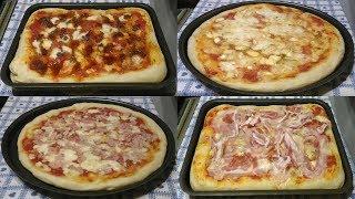 pizza vegetariana mangiata in pizzeria