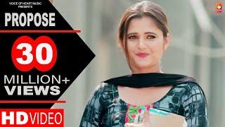 Propose   Amit Dhull   Anjali Raghav   Latest Haryanvi Songs Haryanavi 2018   Most Popular DJ Songs