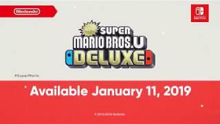 New Super Mario Bros. U Deluxe - Reveal Trailer (Nintendo Switch)