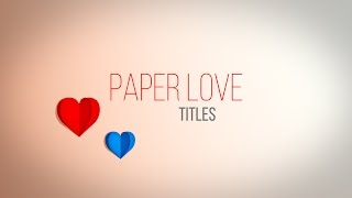Paper Love Titles