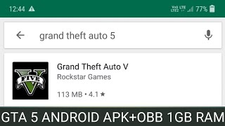 Download GTA 5 Android ! Highly Comprassed