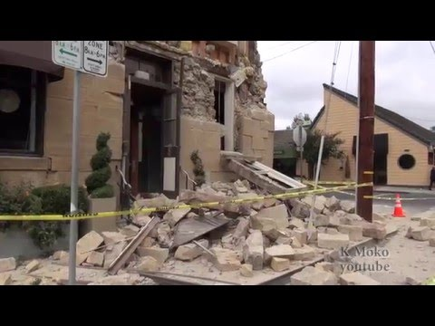 Earthquake distruction in Downtown Napa California part 2