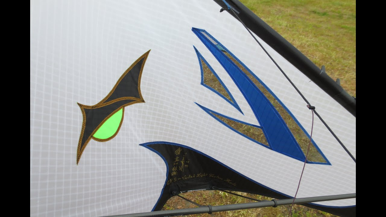 Gps 3d Vented Sport Kite