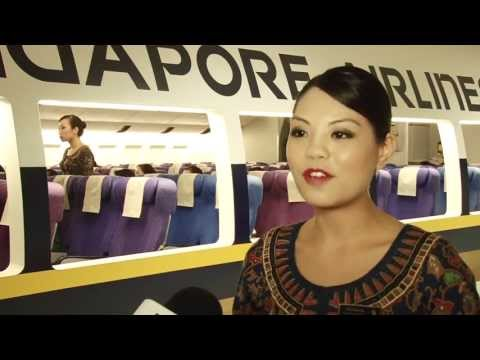 Sia Cabin Crew Training video