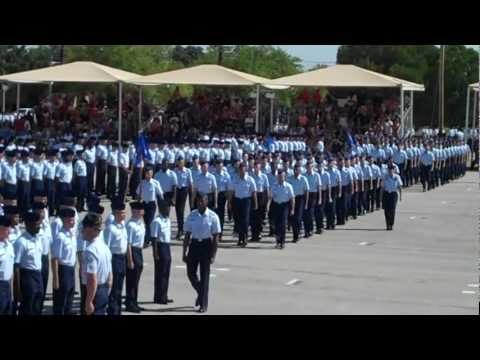 U.S. Air Force Basic Military Training (BMT) Graduation, Lackland AFB (Part 1 of 2).