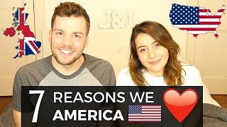7 Things Brits LOVE About the USA! 🇺🇸❤️ | American vs British