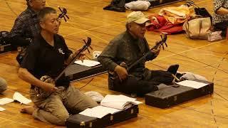 石垣島でサンシン大合奏会