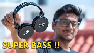 Wireless Headphones with Built in SUB WOOFERS !! Super BASS