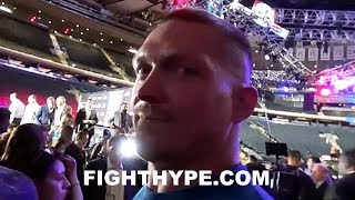 OLEKSANDR USYK RESPONDS TO TONY BELLEW; TELLS MURAT GASSIEV WHAT TO EXPECT WHEN THEY MEET