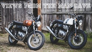 Royal Enfield 650 Inteceptor & Continental GT - Back to Back Road Test