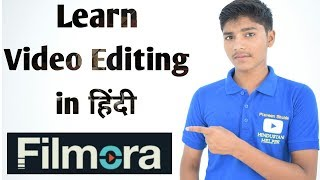 (Hindi) Learn Video Editing in 20 Minutes - Filmora
