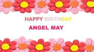 Angel May   Birthday Postcards & Postales8