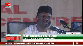 Without Ad Hoc Staff, INEC Cannot Successfully Conduct Elections In Nigeria- INEC Chairman
