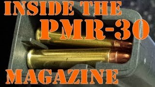 Inside The PMR-30 Magazine: A Rimmed Cartridge Double-Stack Mag