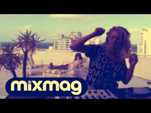 Anna Wall & Treasure Fingers on Location in Miami at Mixmag DJ Lab