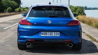 2014 VW Volkswagen Scirocco R (Facelift)  0-240 km/h Tachovideo acceleration Beschleunigung