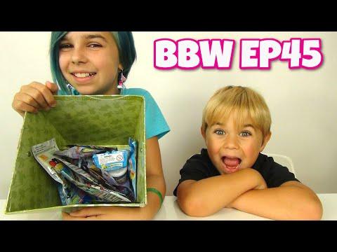 Blind Bag Wednesday Ep45 - Shopkins, Minikins, Transformers And Spongebob - Surprise Open video