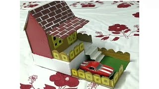 How to make Cardboard House For kids