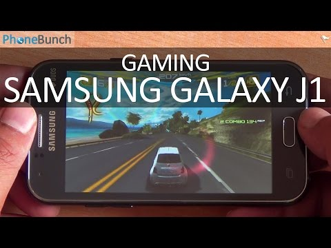 Samsung Galaxy J1 Gaming Review