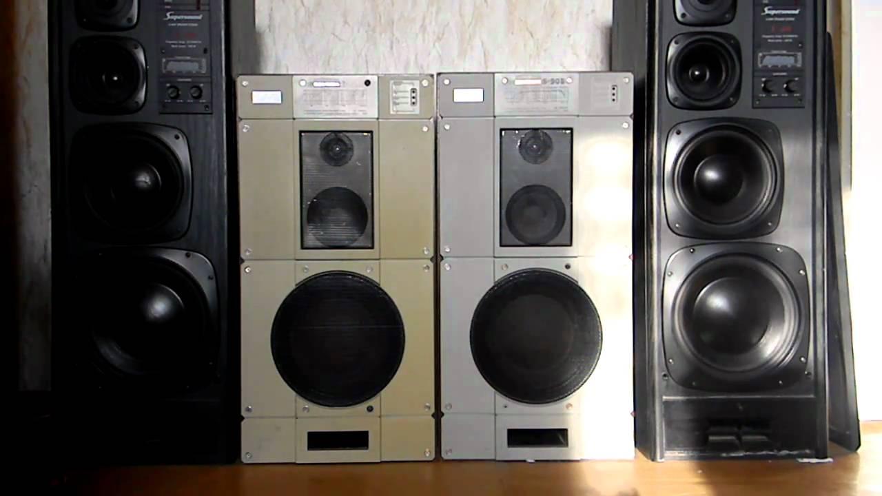 RRR S-400 & S-90B + Pioneer A-602 - YouTube