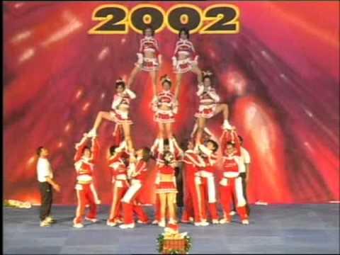 Bangkok University Seacon Cheerleading 2002 Final
