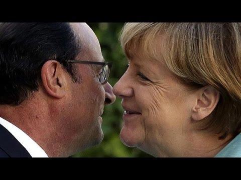 Hollande and Merkel urge Greece to make 'credible' proposals