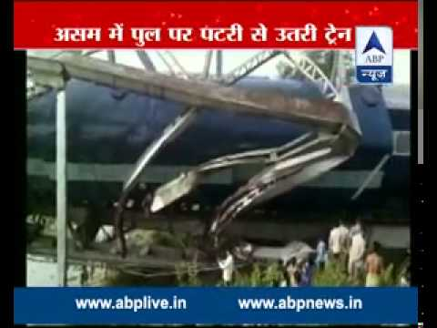Guwahati-Siphung Express Train derails in Assam because of tree on track, 2 injured
