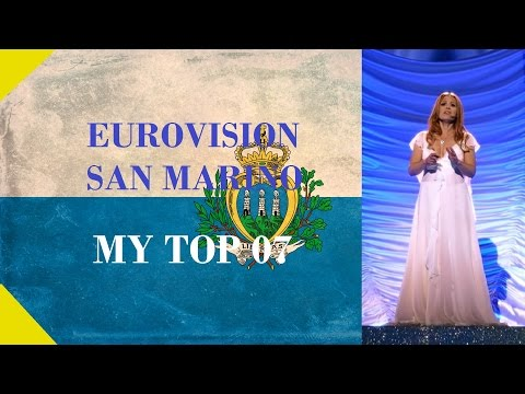 San Marino in Eurovision - My Top [2000 - 2016]