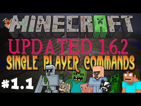 How To Install Single Player Commands & World Edit - Minecraft 1.6.2 - tutor