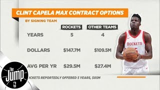 What is going on with Clint Capela and the Houston Rockets?   The Jump   ESPN