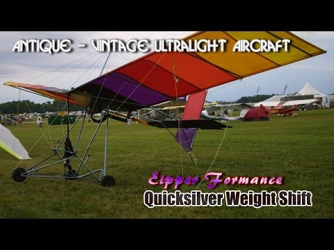 Eipper Formance Quicksilver Weight Shift antique ultralight vintage ultralight aircraft.