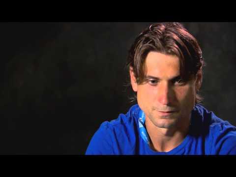 David Ferrer interview (second round) - 2014 Australian Open