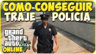 TRUCOS GTA 5 ONLINE - CONSEGUIR TRAJE DE POLICIA - GTA 5 PS3 Y XBOX 360