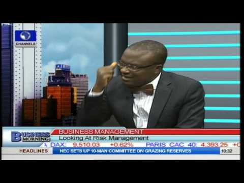 Risk Management Expert Gives ABC Of Managing Business Risks Pt.1