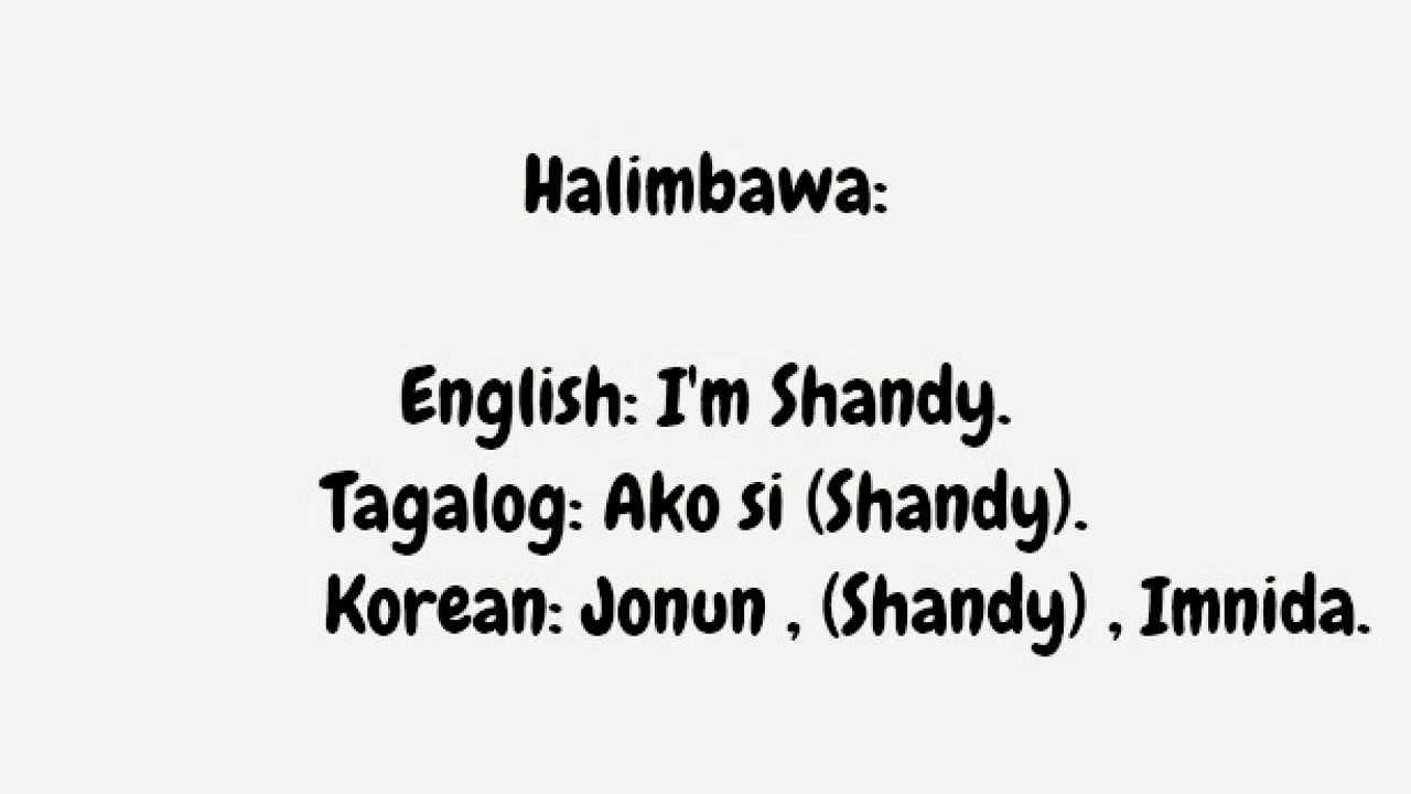 translate in korean writing
