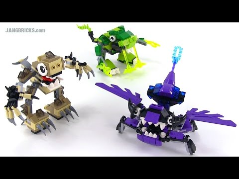 LEGO Mixels Series 3 MAX combinations! Spikels. Glorp Corp. Wiztastics!