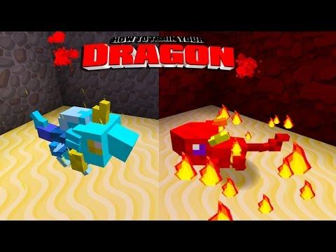 Minecraft - How To Train Your Dragon - Blaze & Bolt! [49] video