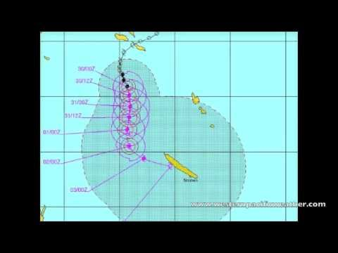 Cyclone Freda pushes in on New  Caledonia and Mitchell Update