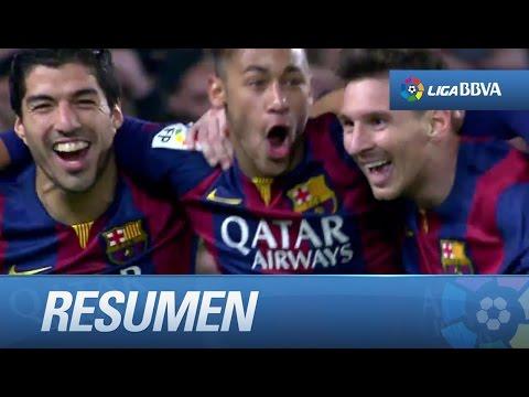 Resumen de FC Barcelona (3-1) Atlético de Madrid - HD