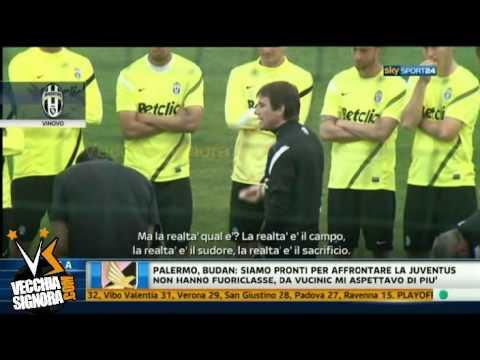 Antonio Conte discorso in allenamento 03-04 Integrale Juventus