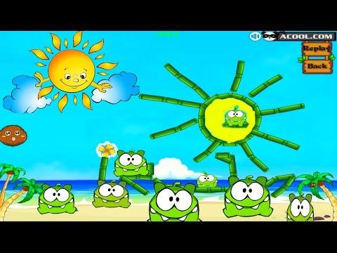Мультик ИГРА Ам Ням Пьет Воду 2 #4 👾 Om Nom Frog Drink Water 2 👾 Game Cartoon