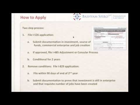 EB-5 Investment Green Card Program